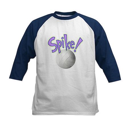 SPIKE! Volleyball Kids Baseball Jersey