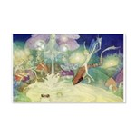 The Fairy Circus 22x14 Wall Peel