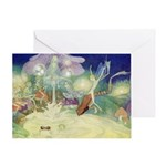 The Fairy Circus Greeting Card