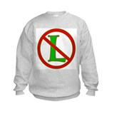 "No ""L"" Sweatshirt"
