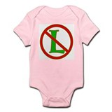 "No ""L"" Infant Bodysuit"