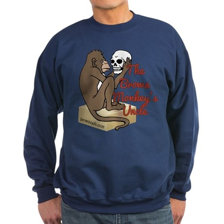 Brown Monkey's Uncle Sweatshirt (dark)