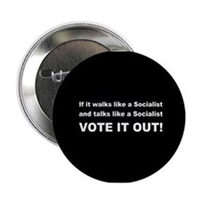 "Socialist Vote It Out 2.25"" Button (10 pack)"