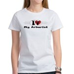 I Love My Arborist Women's T-Shirt