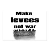 Make Levees Not War Postcards (Package of 8)