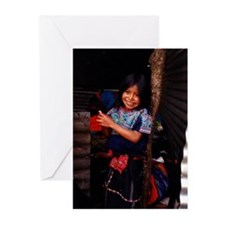 Mayan Girl Greeting Cards (Pk of 10)