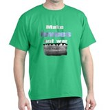 Make Levees Not War Black T-Shirt