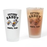 Personalized Dad To Be Drinking Glass
