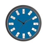 Dominos Wall Clock