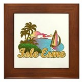 Breaking dawn - Isle Esme Framed Tile