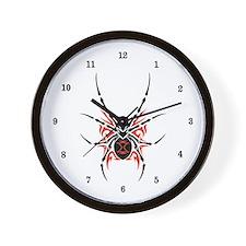 Black Widow Spider Wall Clock