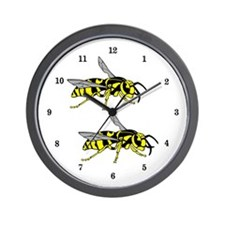 Wasps Wall Clock