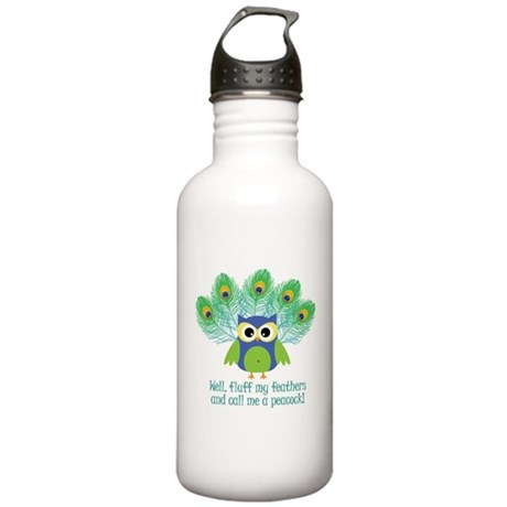 Fluff My Feathers Stainless Water Bottle 1.0L