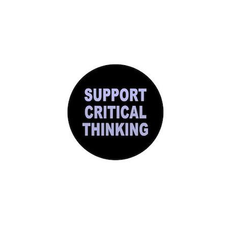 critical thinking... Mini Button