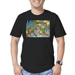 The Fairy Circus Men's Fitted T-Shirt (dark)