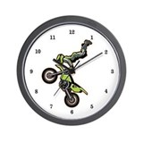 Freestyle Motocross Wall Clock