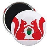 "squirrel 2.25"" Magnet (10 pack)"
