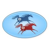 Ancient Horses 2 Decal