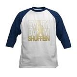 Everyday Shufflin Gold Blockh Tee