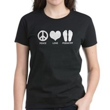 Peace Love Podiatry Tee
