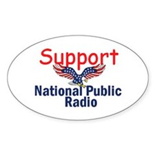 Support NPR Decal