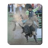 Bull Riding Mousepad