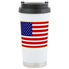 America Ceramic Travel Mug
