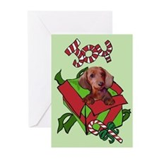 Christmas Dachshund Greeting Cards (Pk of 10)