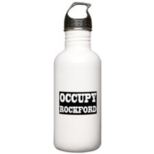 OCCUPY ROCKFORD Water Bottle