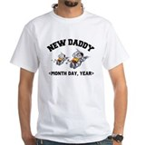 Personalized New Daddy Shirt
