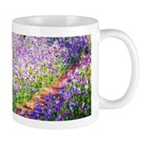 Monet - Irises in Garden Coffee Mug