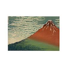 Mt. Fuji Rectangle Magnet