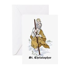 St. Christopher Greeting Cards (Pk of 10)