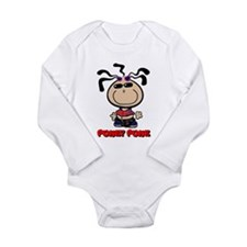 Punky Punk Long Sleeve Infant Bodysuit