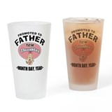 Cute Daddy 2012 Drinking Glass