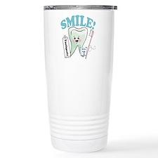 Dentist Dental Hygienist Teeth Thermos Mug