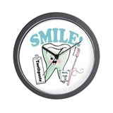 Dentist Dental Hygienist Teeth Wall Clock