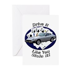 Datsun 280Z Greeting Cards (Pk of 10)