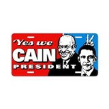 Cain - Bunny Ears Aluminum License Plate