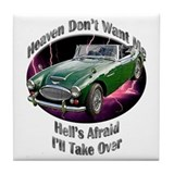 Austin Healey 3000 Tile Coaster