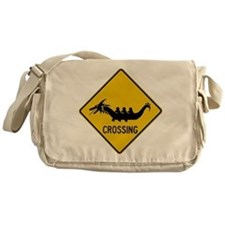 Dragon boat paddles Messenger Bag