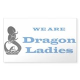 Dragon boat paddles Decal