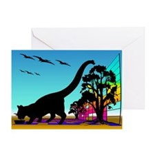 CATASAURUS Greeting Card
