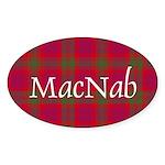 Tartan - MacNab Sticker (Oval)