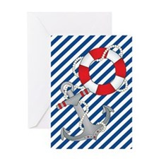Nautical Chic Greeting Card