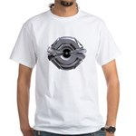 Heavy Metal Icon White T-Shirt
