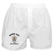 Funny Personalized New Dad Boxer Shorts