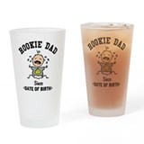 Funny Personalized New Dad Drinking Glass