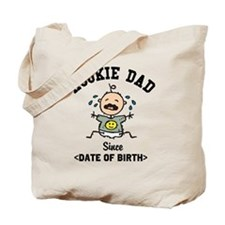 Funny Personalized New Dad Tote Bag