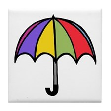 'Umbrella' Tile Coaster